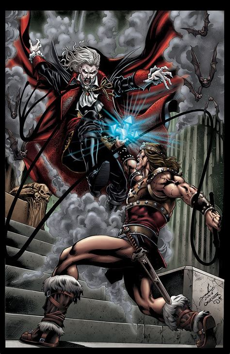 Dracula Vs Simon Belmont By David Ocampo Video Games