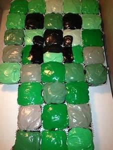 Minecraft cupcakes | birthday | Pinterest | Minecraft ...