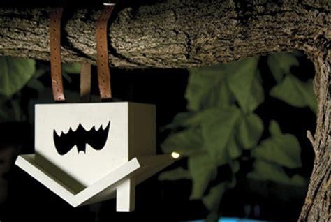 hanging bat house upside down wood birdhouse for bats