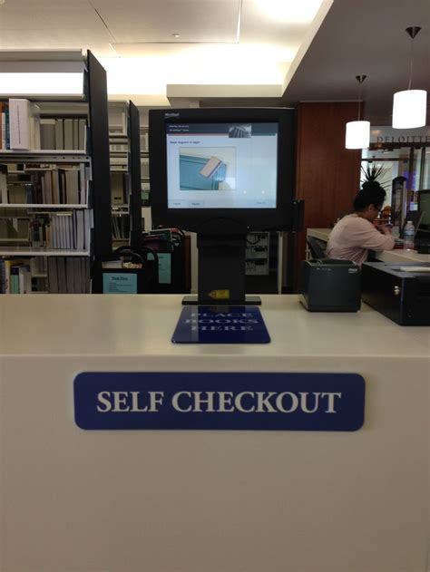 librarys  checkout station   quick  easy