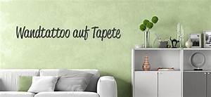 Wandtattoo Auf Rauputz : wandtattoo auf tapete anbringen anleitung wandtattoos ~ Michelbontemps.com Haus und Dekorationen