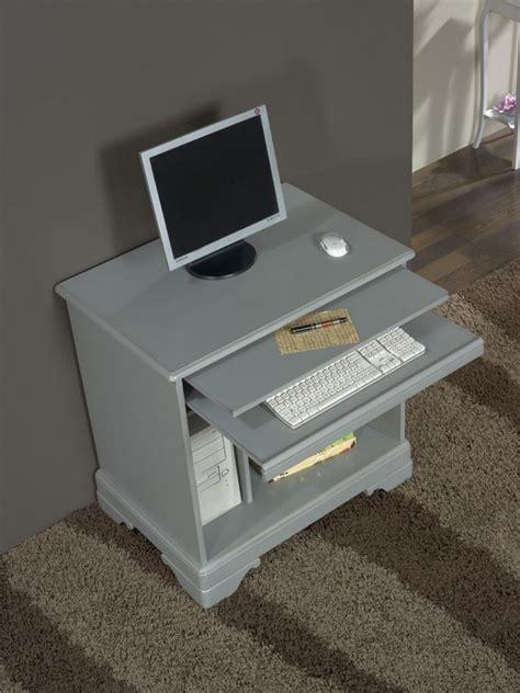 bureau merisier massif bureau informatique en merisier de style louis philippe