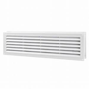Internal door vent 462mm x 124mm for Internal bathroom ventilation