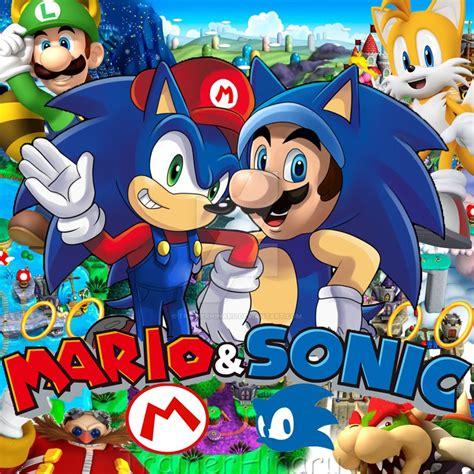 Mario And Sonic By Trainerhinaru On Deviantart