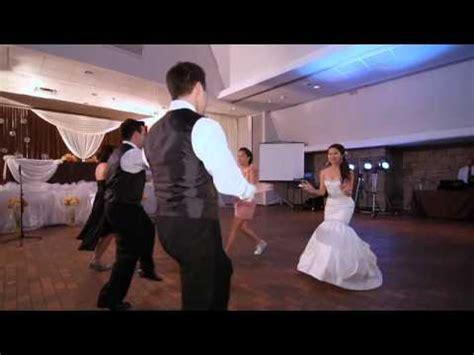 matt s hip hop wedding entrance dance youtube
