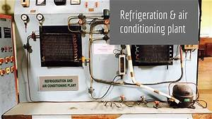 Refrigeration  U0026 Air Conditioning Plant Lab Experiment