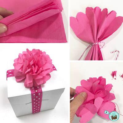 diy papierblumen aus servietten der schachtel shop muenchen