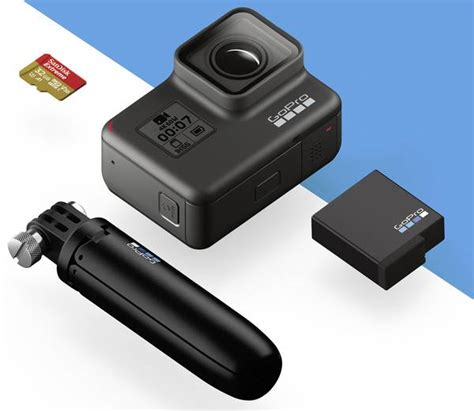 gopro hero black holiday bundle actioncam full hd