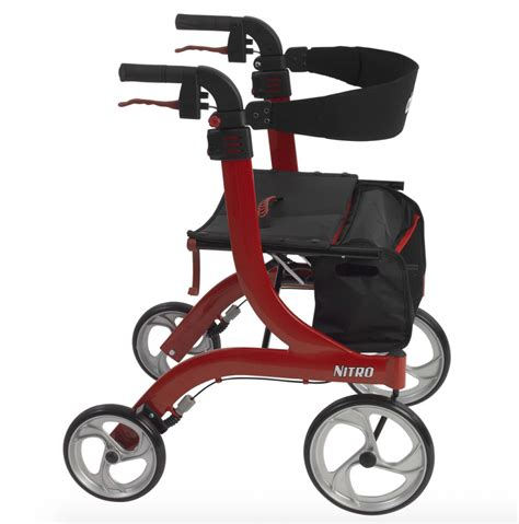 nitro drive rollator medical walkers rollators valley supplies manual euro