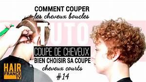 Comment Couper Les Cheveux Courts : comment couper les cheveux ondules crepus frises hair france tv youtube ~ Farleysfitness.com Idées de Décoration