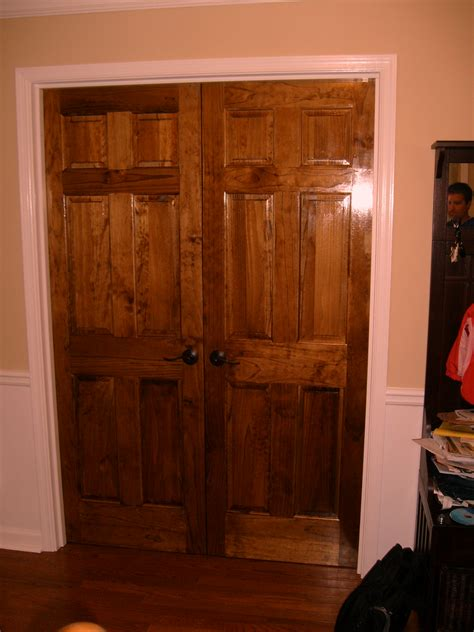 bedroom white pine wood sliding closet doors combined