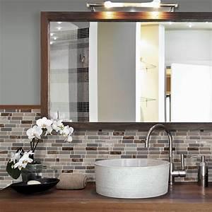 carrelage adhesif pour salle de bain smart tiles With carrelage adhesif salle de bain avec led prix com