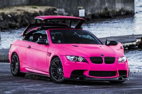 Hot Pink Bmw M3 Convertible