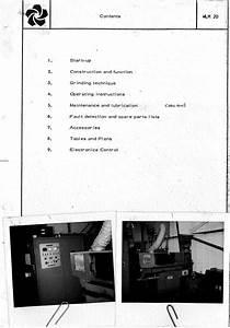 Wendt Wlm 20 Instruction Manual