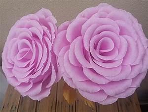 Rosen Aus Seidenpapier : riesen gro e rose farbe krepp papier blume rose hochzeit ~ Lizthompson.info Haus und Dekorationen