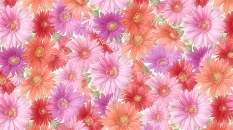 Flower Background Language Of Flowers Wallpaper