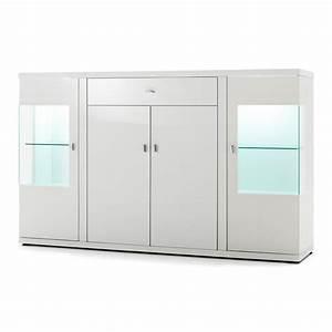 Waschmaschinenschrank Mit Türen : sideboard puna mit 4 t ren und 1 schubkasten hochglanz wei ~ Eleganceandgraceweddings.com Haus und Dekorationen