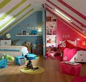 15 cool design ideas for an attic kids room kidsomania With cool room ideas for kids