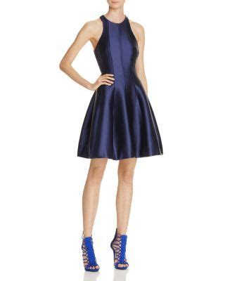 aqua cutout fit  flare dress bloomingdales