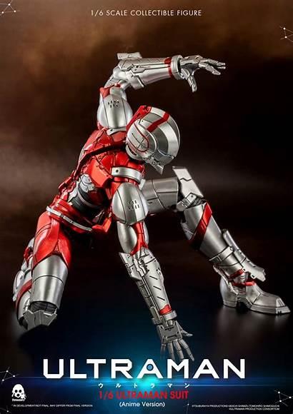 Ultraman Anime Figure Threezero Action Netflix Suit