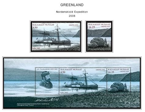 Greenland Stamp Album Pages Cd 1935-2011 (103 Color