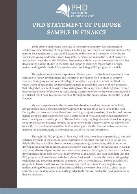 cover letter statement  purpose sample  cover