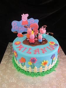 Peppa Pig Birthday Cake - CakeCentral com
