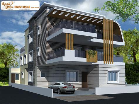 Ag+p Home Design : 5 Bedroom, Modern Triplex (3 Floor) House Design. Area