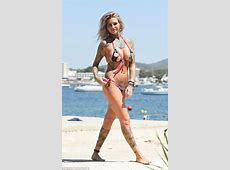 Ex On The Beach's Jemma Lucy wears tiny bikini while on