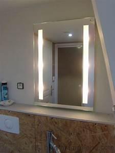 Miroir lumiere salle de bain ~ Solutions pour la décoration intérieure de votre maison