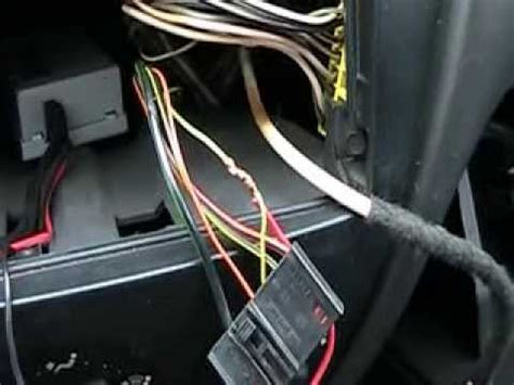 ford focus aux input install youtube