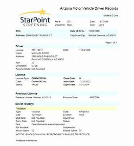 Starpoint Employment Screening Offers Mvr Driver Record