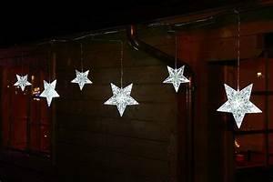 Lichterkette Außen Weihnachten : lichterkette mit 6x stern gro beleuchtet 90 led au en weihnachten ~ Frokenaadalensverden.com Haus und Dekorationen