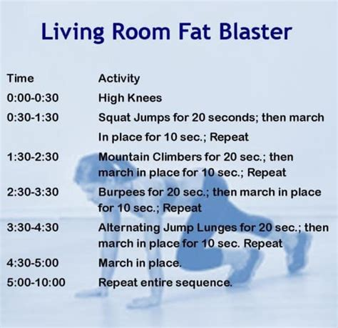 Living Room Workout Routine by These Hiit Cardio Workouts Will Help You Burn Quickly