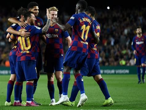 Chezmaitaipearls: Barcelona La Liga Point Table 2019