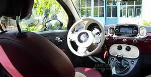 Fiat 500 Interieur : nouvelle fiat 500 2016 essai finition interieur bordeaux blog auto ~ Gottalentnigeria.com Avis de Voitures