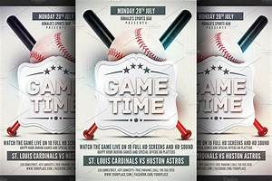 baseball game flyer template flyer templates creative With baseball fundraiser flyer template