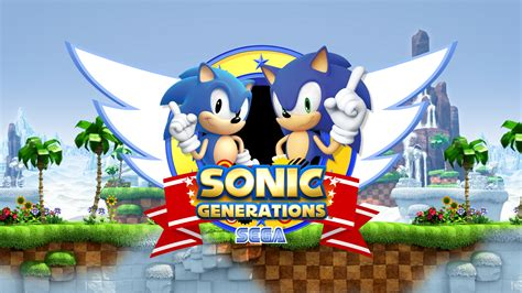 sonic generations hd wallpaper background image