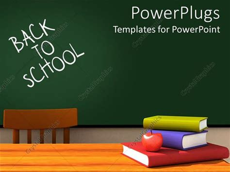 Back To School Classroom With