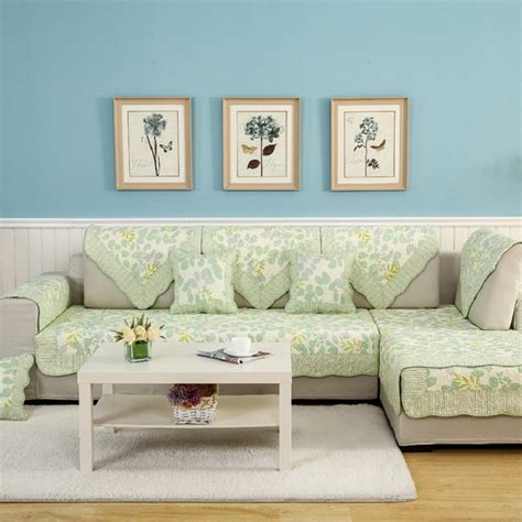 Living Room Seat Covers by Aliexpress Buy Wliarleo Pastoral Sofa Cover Green