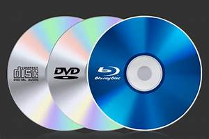 What Is The Difference Between Cd  Dvd  And Blu