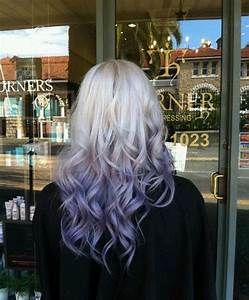 Black to Silver Ombre Hair Extensions images