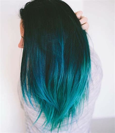 Best 25 Turquoise Hair Ombre Ideas On Pinterest Teal