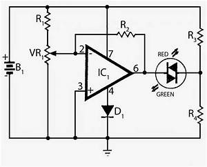 Electronics Projects  Battery Voltage Monitor