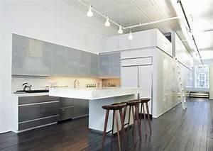 Wohnzimmer Mit Bar : 1001 ideen zum thema offene k che trennen haus pinterest ~ Michelbontemps.com Haus und Dekorationen