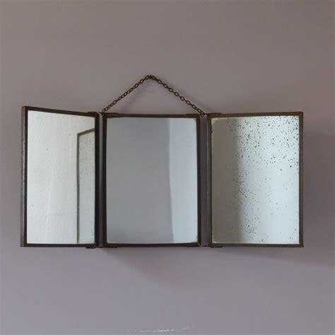 ancien miroir de barbier triptyque lignedebrocante brocante en ligne chine pour vous meubles