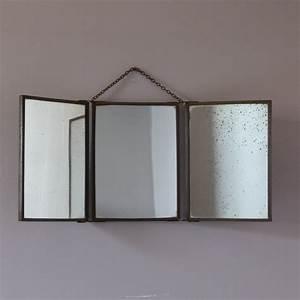 armoire salle de bain miroir triptyque maison design With miroir barbier salle de bain