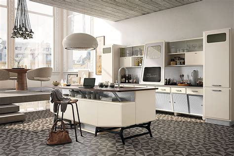 vintage kitchen offers  refreshing modern   fifties