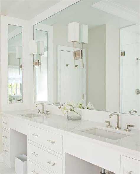 brushed nickel bathroom sconces lucite hardware transitional bathroom tutun