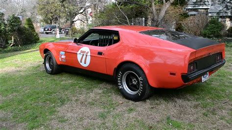 Ebay Race Cars For Sale by 1971 Mustang Mach 1 351 Race Car For Sale On Ebay